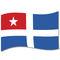 Flagge Kreta