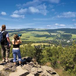 Erlebnisreiche Wanderung durch das Erzgebirge - schwartenberg