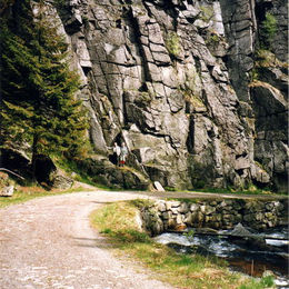 Erzgebirge im Schwarzwassertal
