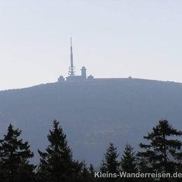 Harzer-Hexen-Stieg, Brocken aus der Ferne