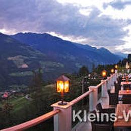 Südtirol Hotel Panorama Terrasse