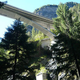 Via Mala Via Spluga - Strassenbrücke