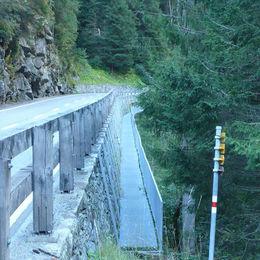Via Mala Via Spluga - Wanderbrücke