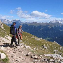 Südtirol Dolomiten - Hirzelweg