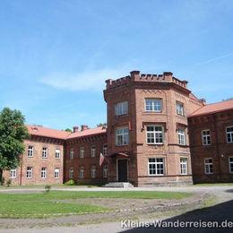 Memel und Kurische Nehrung, altes Schloss