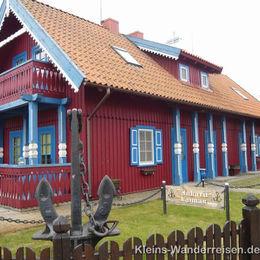 Memel und Kurische Nehrung, Haus in Nidden