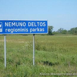Memel und Kurische Nehrung, Naturpark Memeldelta