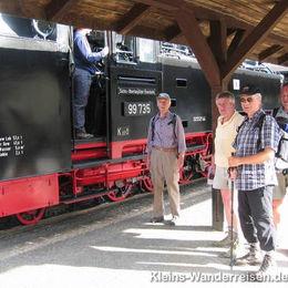 Oberlausitzer Bergweg, Ankunft  Bahnhof Zittau