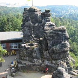Oberlausitzer Bergweg Nonnenfelsen