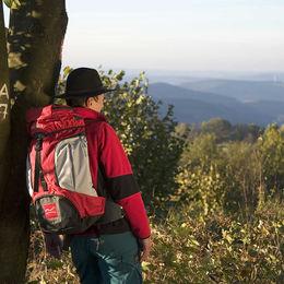 Ohne Gepäck wandern auf dem Weg der Sinne - Rothaarsteig - aussicht-bei-lützel