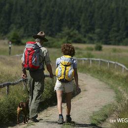 Ohne Gepäck wandern auf dem Weg der Sinne - Rothaarsteig - Der Weg der Sinne - Rothaarsteig