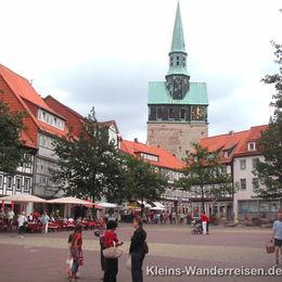 Harzer-Hexen-Stieg, Stadtdansicht Osterode