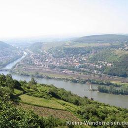 Rheinsteig, Bingen mit Mäuseturm