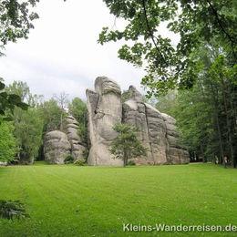 Riesengebirge, in den Adersbacher Felsen