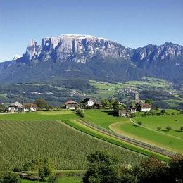 Südtirol - Schlern mit Rosengarten