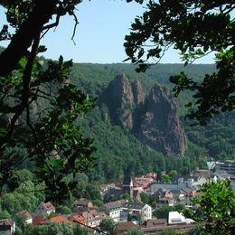 Wandern im Naturpark Soonwald-Nahe ohne Gepäck auf dem Weinwanderweg Rhein-Nahe - 6