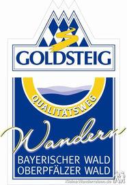 Goldsteig, Wegelogo