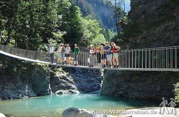 Via Mala Via Spluga - Brücke über den Hinterrhein