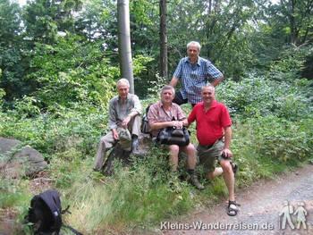 Oberlausitzer Bergweg, Aufstieg zum Valtenberg
