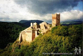 Vogesen Ruine St. Ulrich