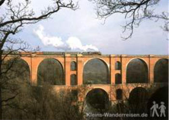 Vogtland Elstertalbrücke bei Joketa
