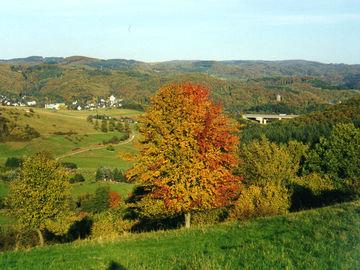 Die Höhen des Westerwald erwandern - ungeführte Wanderreise - dillenburg