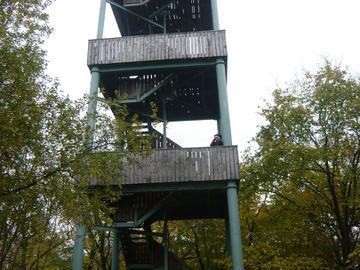 Genussvolles Wandern im waldreichen Naturpark Lahn-Dill-Bergland - koppes-turm