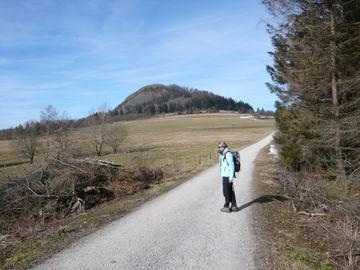 Gepäcklos wandern entlang des Hochrhöner Wanderweges durch Bayern Hessen und Thüringen - weg-zur-milseburg