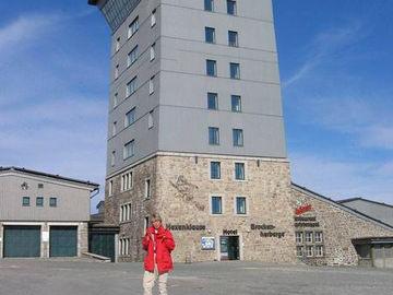Harzer-Hexen-Stieg, Turmhotel auf dem Brocken