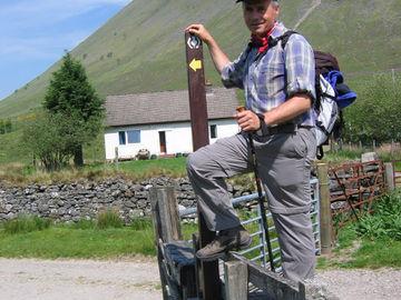 Individuelle Wanderreise durch die schottischen Lowland und Highlands - West Highland Way - whw-wieder-ein-gatter