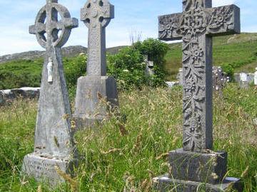 Irland Keltische Kreuze