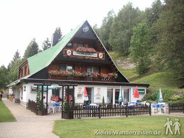 Harzer-Hexen-Stieg, Pension am Felsen