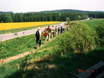 Rennsteig - wandern ohne Gepäck auf einem der beliebtesten Wanderwege in Deutschland - bei-schlegel