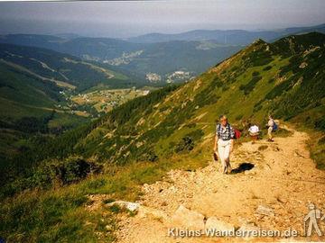 Riesengebirge, Aufstieg von Sankt Peter