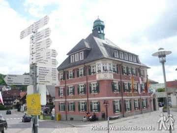 Schluchtensteig Rathaus Lenzkirch