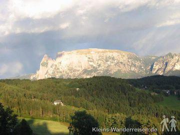 Südtirol - Blick zum Schlern