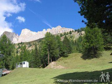 Südtirol Dolomiten - unterm Hirzelweg