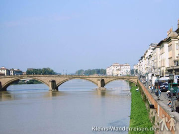 Toskana Florenz Arnobrücke