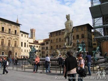 Toskana Florenz Neptunbrunnen