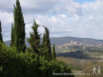 Toskana San Gimignano Panorama