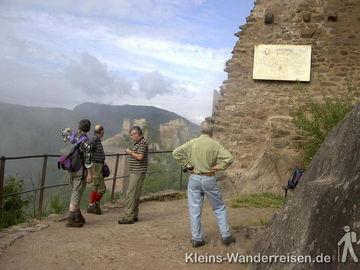 Vogesen Ruinen Giersberg und St. Ulrich