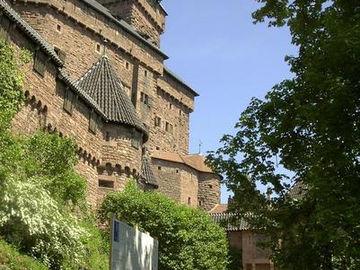 Vogesen Hochkönigsburg