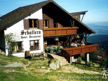 Vogesen Berghotel in Schallern