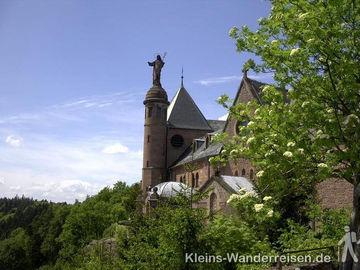 Vogesen Kloster der Heiligen Odilie