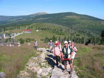 Wanderreise in Tschechien entlang des Riesengebirges ohne Gepäck - zu-den-mannsteinen