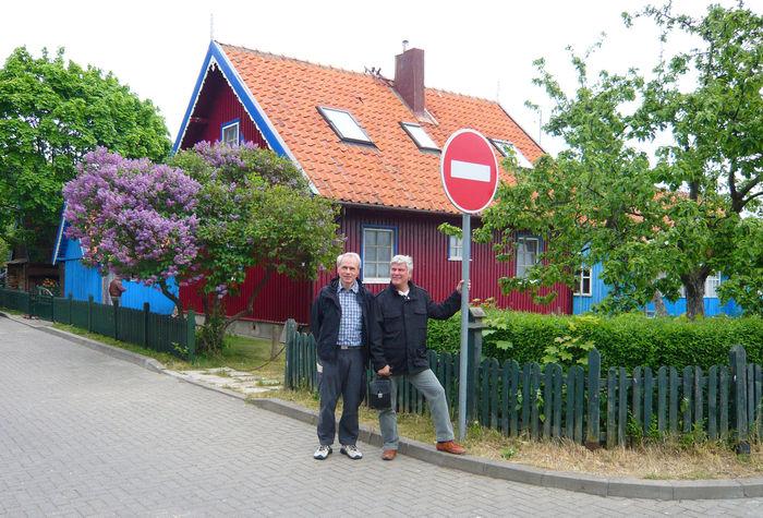 Memelland Dieter Klein und Dirk Bohlmann