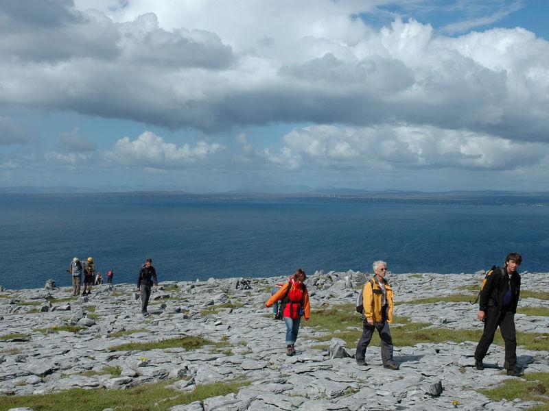 Geführte Wanderreise auf der grünen Insel Irland - irland-burren