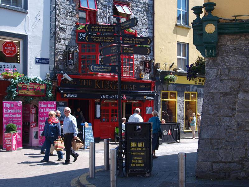 Geführte Wanderreise auf der grünen Insel Irland - irland-strassenbild