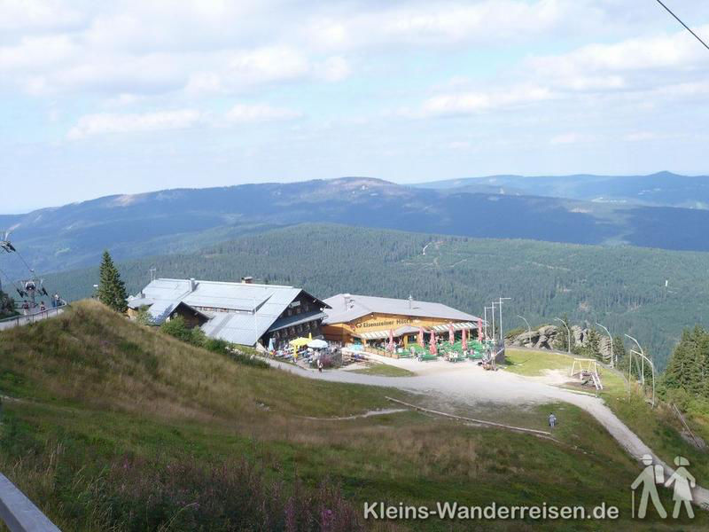 Goldsteig, Bergstation Arber Seilbahn