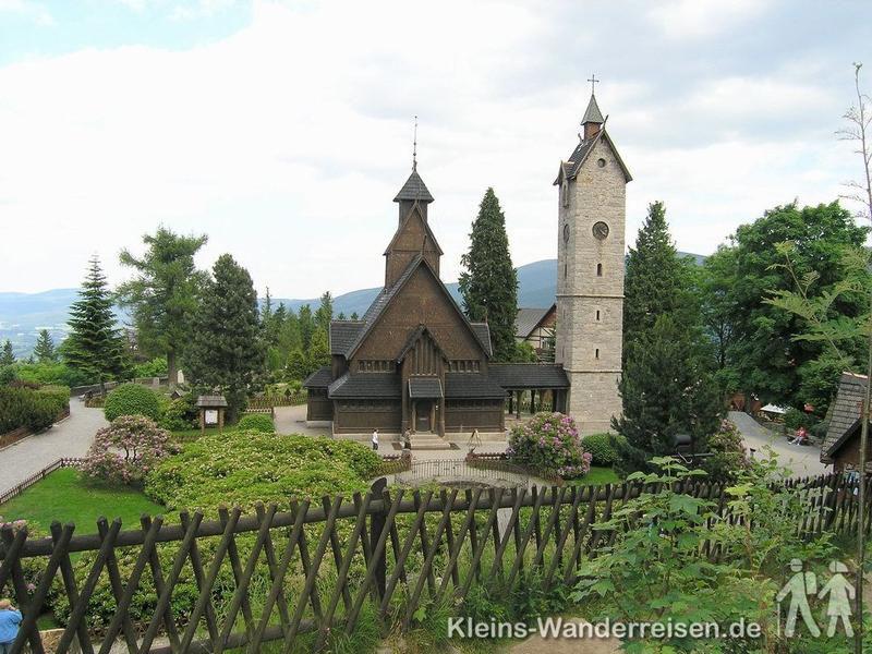 Riesengebirge, Kirche Wang